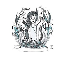 Huntress blue by Dawn Louise Sims