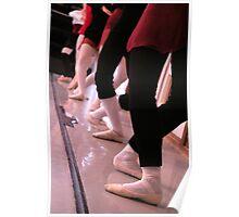 Ballet. Barre. Plié Poster
