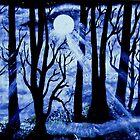 Moonlit Forest by WienArtist