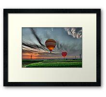 Hot Air! Framed Print