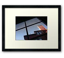 Through a Screen Framed Print