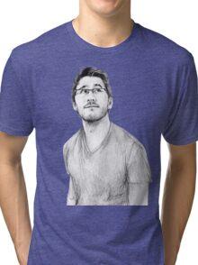 Markiplier Tri-blend T-Shirt