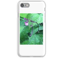 Purple Green Bean iPhone Case/Skin