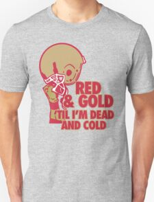 Red and Gold T-Shirt