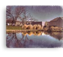 Lower Water Pond Canvas Print