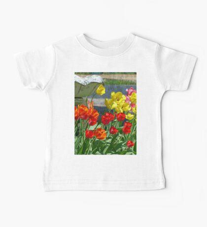 Tulips in Bloom Baby Tee