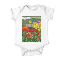Tulips in Bloom One Piece - Short Sleeve