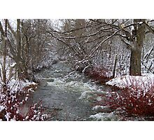 April Thaw or Runoff.... Photographic Print