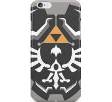 Hylia-Shield grey iPhone Case/Skin