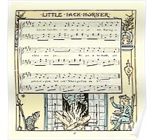 The Baby's Opera - A Book of Old Rhymes With New Dresses - by Walter Crane - 1900-35 Little Jack Horner Poster