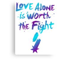 Love Alone - SF Tee - Alternate Canvas Print