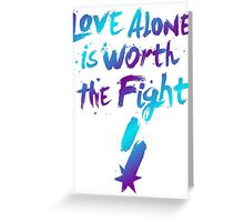 Love Alone - SF Tee - Alternate Greeting Card
