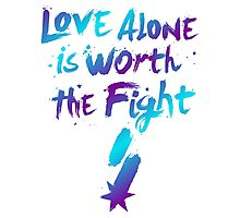 Love Alone - SF Tee - Alternate Photographic Print