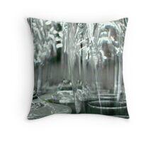 B&W GLASS ^ Throw Pillow
