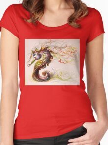 sea-pony Women's Fitted Scoop T-Shirt