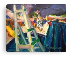 Life Guard Stand Canvas Print