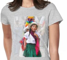 Cuenca Kids 618 Womens Fitted T-Shirt