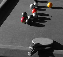 Pool and ping pong by fritsswanepoel