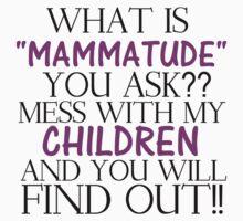 MAMMATUDE Kids Tee