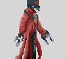 Marvel Star Lord Pixelated by alzepa