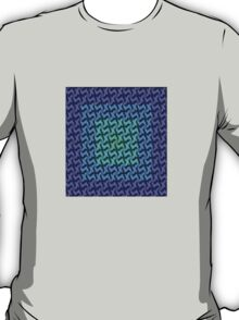 Fractal Fusion - Purple T-Shirt