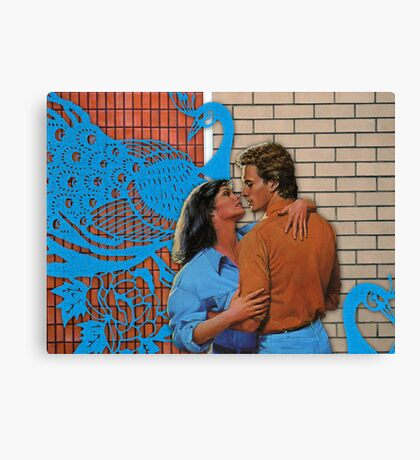 Love at the Bowling Alley Canvas Print