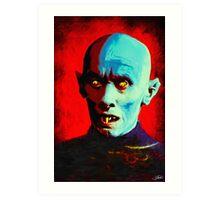 Horror Icons: Mr Barlow - Salem's Lot  Art Print