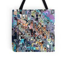 Abstract Digital Doodle 2 Tote Bag