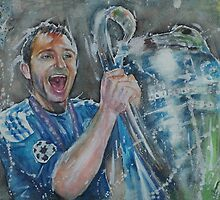 Frank Lampard - Portrait 3 by artsNportraits