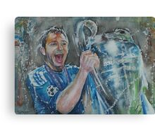 Frank Lampard - Portrait 3 Canvas Print