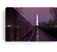 The Vietnam Memorial Canvas Print