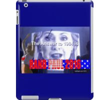The Answer to 1984 is 2016 iPad Case/Skin