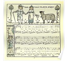 The Baby's Opera - A Book of Old Rhymes With New Dresses - by Walter Crane - 1900-42 Ba Ba Black Sheep Poster