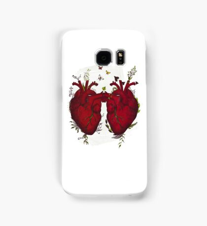 two hearts beating as one Samsung Galaxy Case/Skin