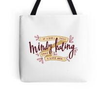 I Love Mindy Kaling Tote Bag