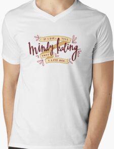 I Love Mindy Kaling Mens V-Neck T-Shirt