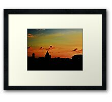 Last Light - Alderney Framed Print