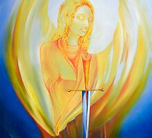 Archangel Michael by Narelle  Green