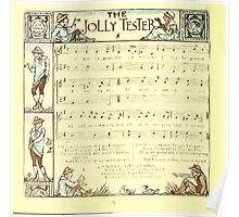 The Baby's Boquet - A Fresh Bunch of Old Rhymes and Tunes - by Walter Crane - 1900-28 The Jolly Tester Poster