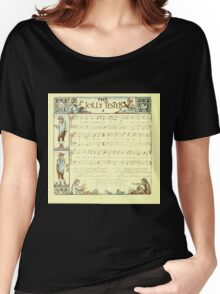 The Baby's Boquet - A Fresh Bunch of Old Rhymes and Tunes - by Walter Crane - 1900-28 The Jolly Tester Women's Relaxed Fit T-Shirt