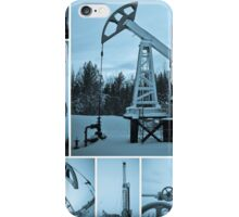 Oil industry. Oil extraction. iPhone Case/Skin