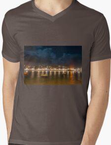 Harbour Night Mens V-Neck T-Shirt