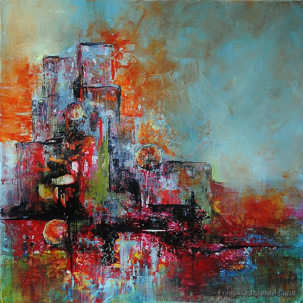 Mirage, featured in Artists on Facebook  by Françoise  Dugourd-Caput