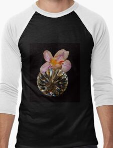 Irish Design Spring Crocus & Crystal Men's Baseball ¾ T-Shirt