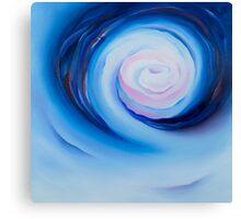Deep in Blue Canvas Print