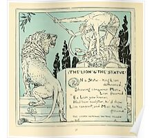 The Baby's Own Aesop by Walter Crane 1908-34 The Lion and the Statue Poster