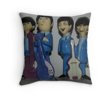 'The Beatles' Throw Pillow