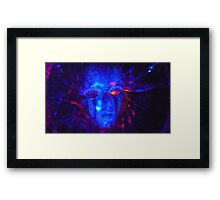 Mrs.  Pinhead Framed Print