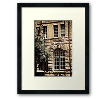 'streetscape' Framed Print