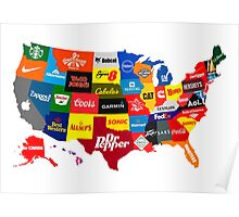 The Corporate States of America Poster